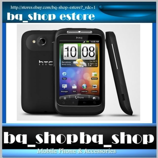 HTC Wildfire S Black A510E