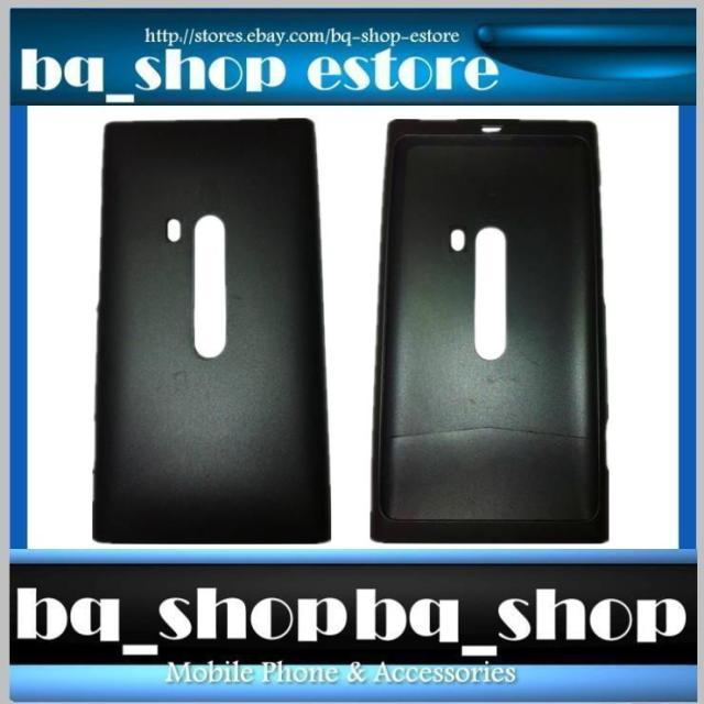 New Original Nokia Lumia 800 Black Silicone Soft Case Cover