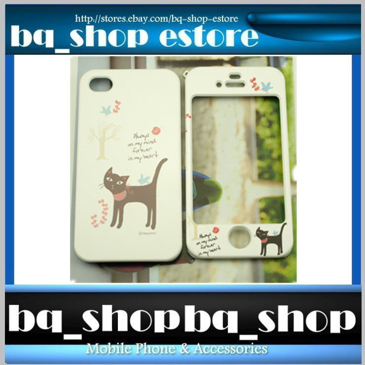 Hard Case Cover for Apple IPhone 4 4S Korea Missing cat Style