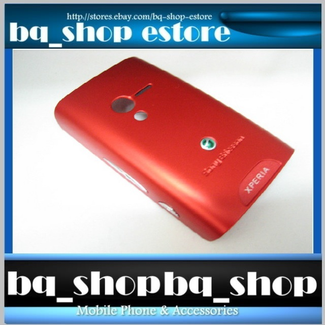 New & Original Sony Ericsson X10 Mini Red Battery Case Cover