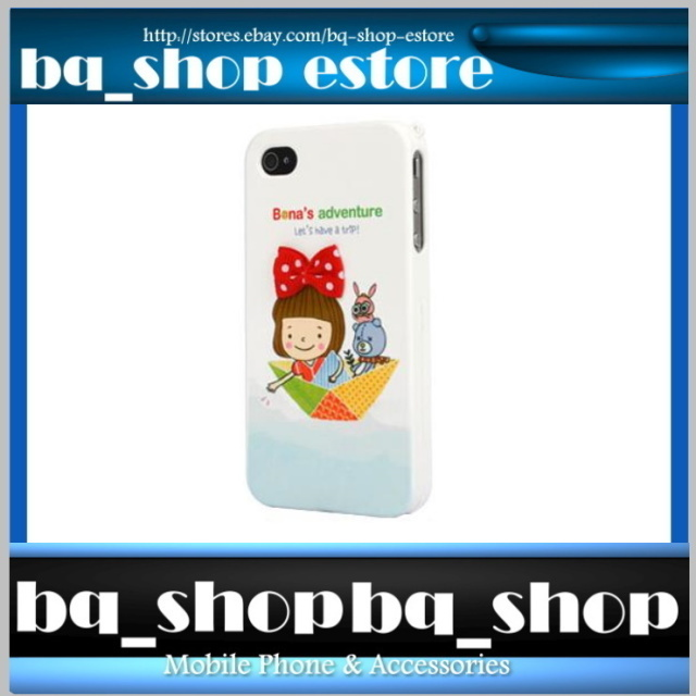 Hard Case Cover for Apple IPhone 4 4S Korea Adventure Girl Figur