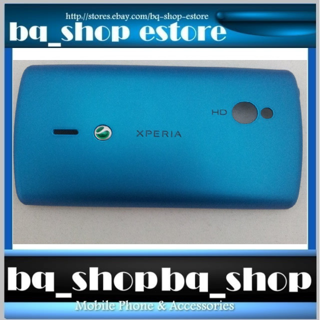 New Original Sony Ericsson XPERIA MINI PRO SK17i Blue Case Cover