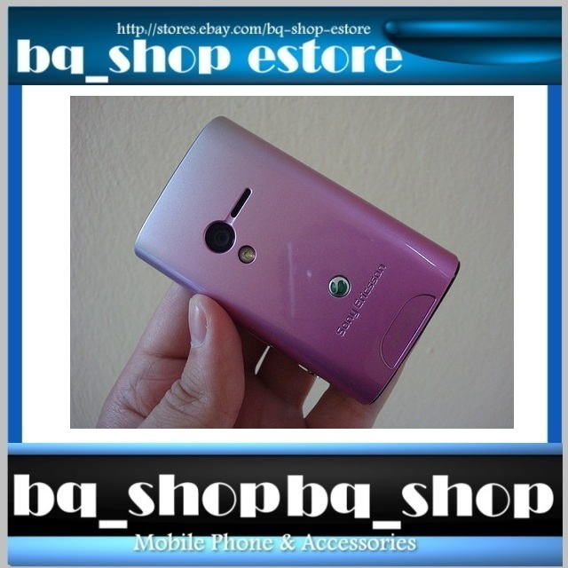 New & Original Sony Ericsson X10 Mini Purple Case