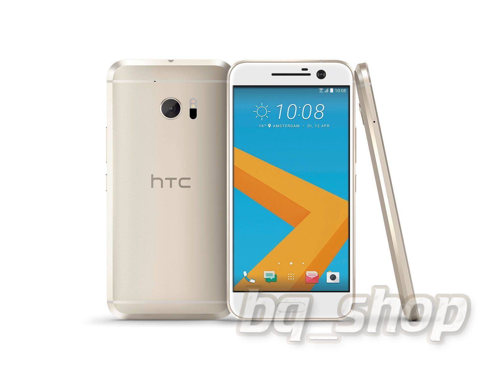 "NEW HTC M10 Gold 5.2"" 32GB"