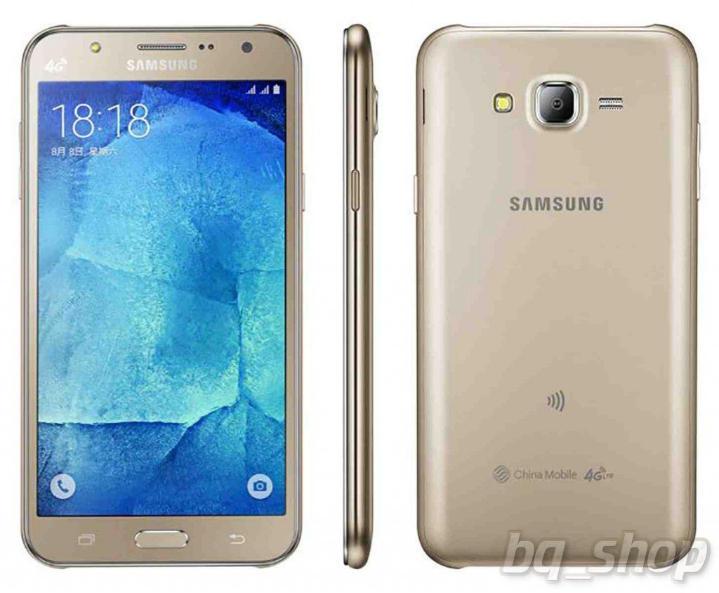 "Samsung Galaxy J7 (2016) J7108 Gold Octa-core 5.5"" S.AMOLED 13MP"