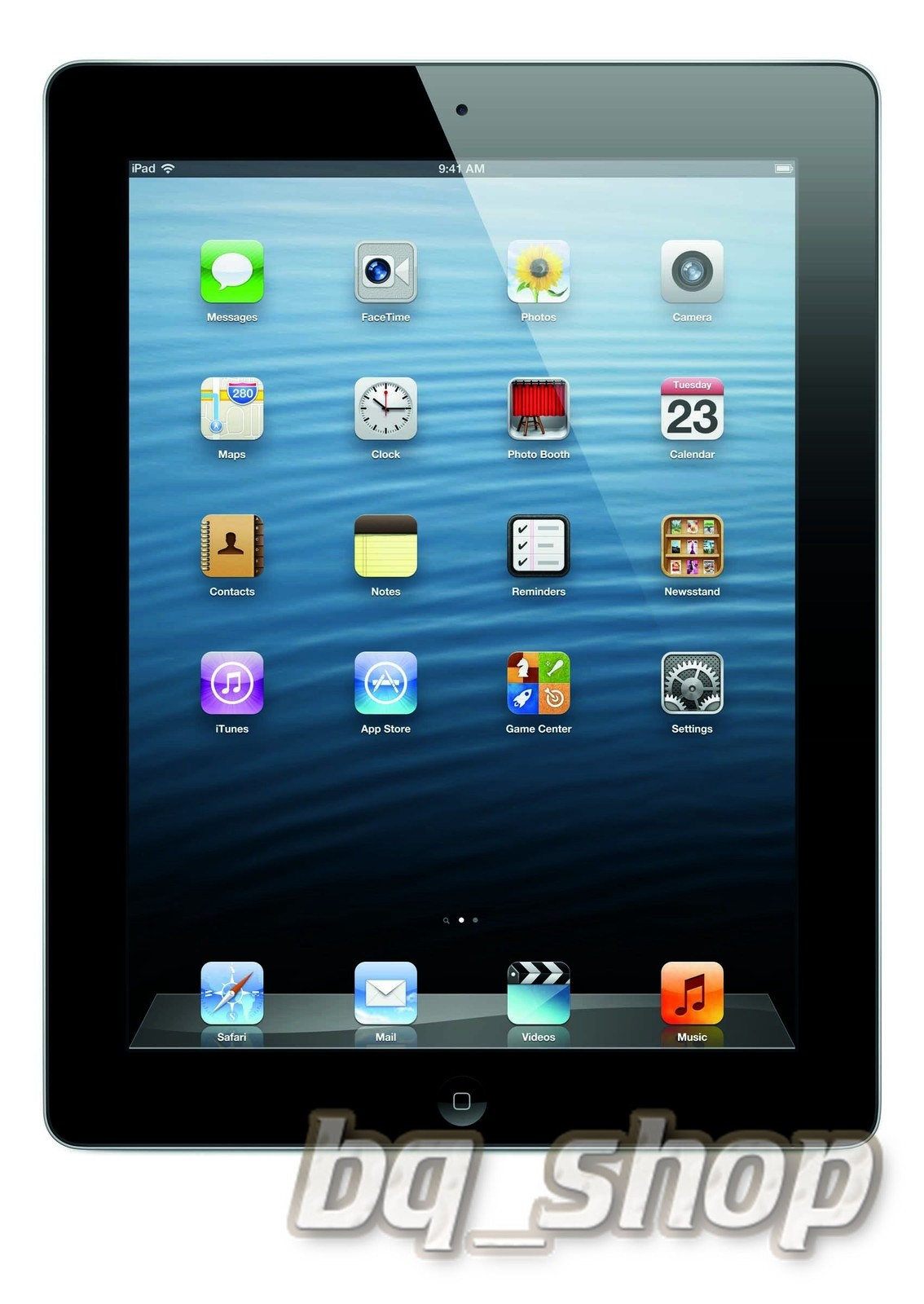 Apple iPad 4th Generation Wi-Fi 16GB Black 9.7' LCD 5MP TABLET B