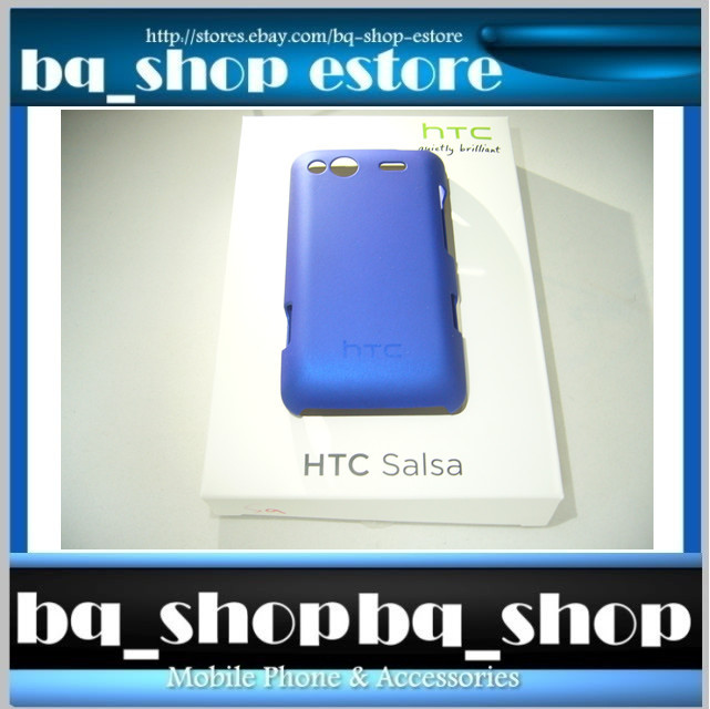 Original Brand New HTC Salsa C510 Special Edition Blue Hard Case