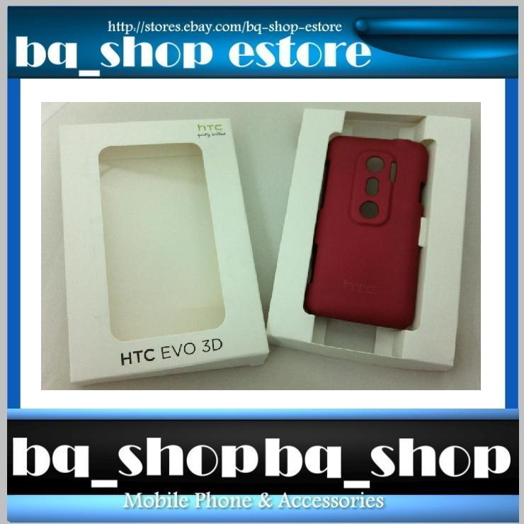 Original Brand New Red HTC EVO 3D Hard Case