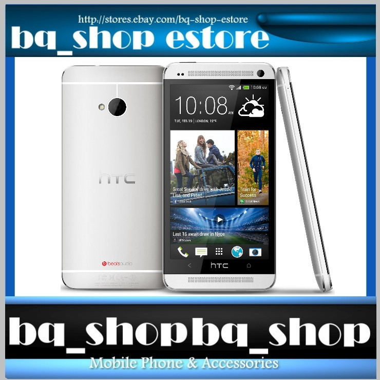 HTC One 801n 801s Silver White 64GB