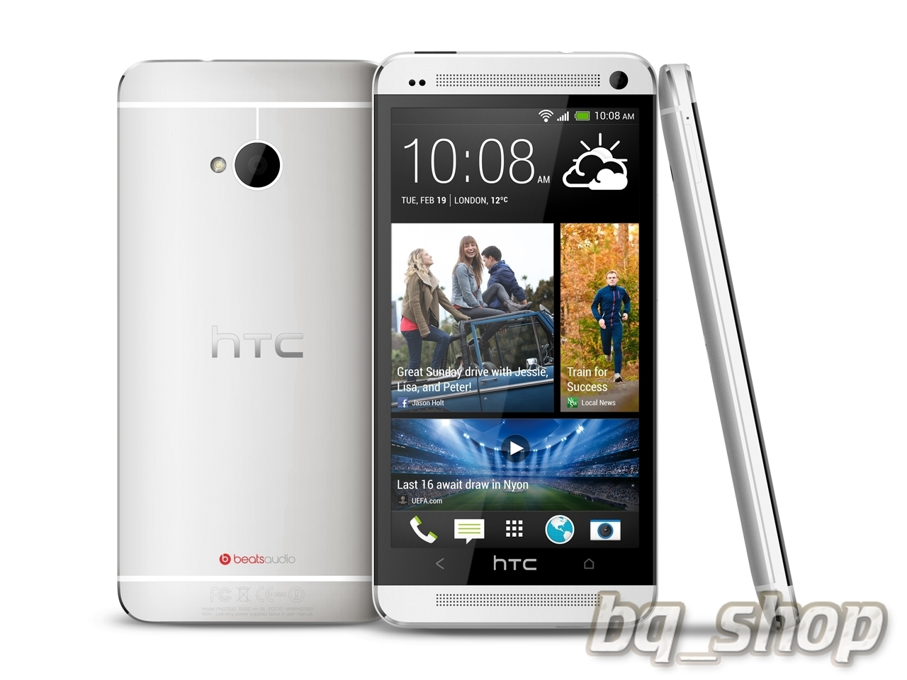 HTC One 802w Quad Core Sliver
