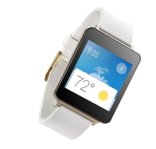 LG G Watch W100 White
