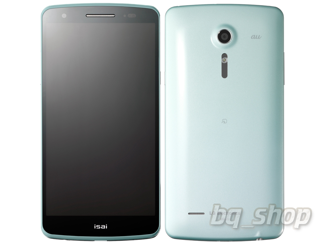 LG C22 AU isai L22 Light blue