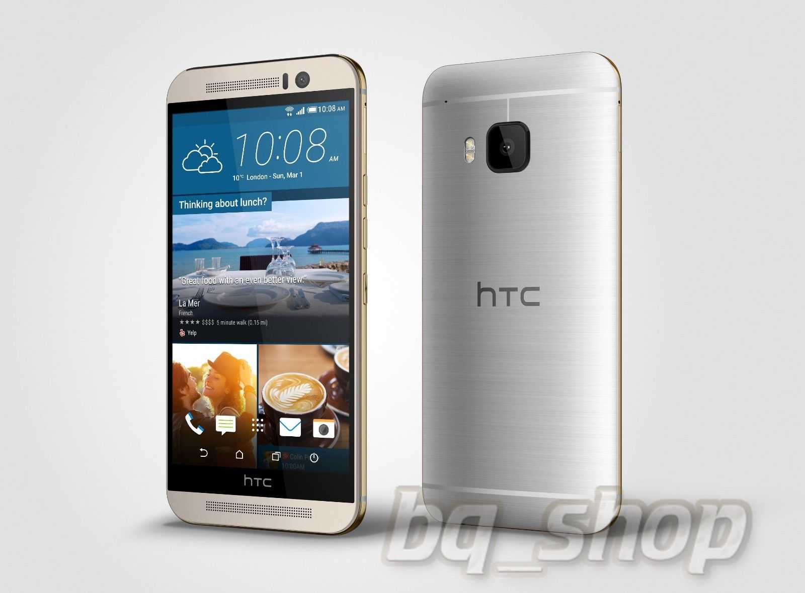 NEW HTC One M9+ Silver