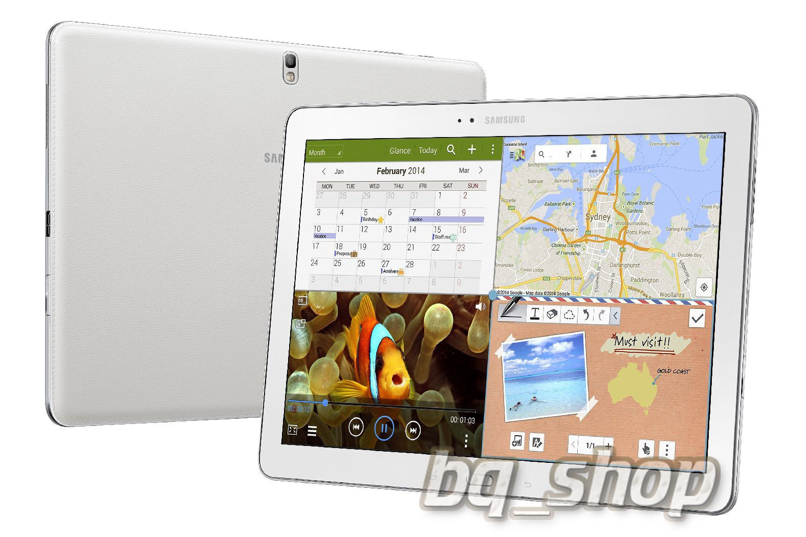 "Samsung Galaxy Note Pro 12.2"" Wifi  White"