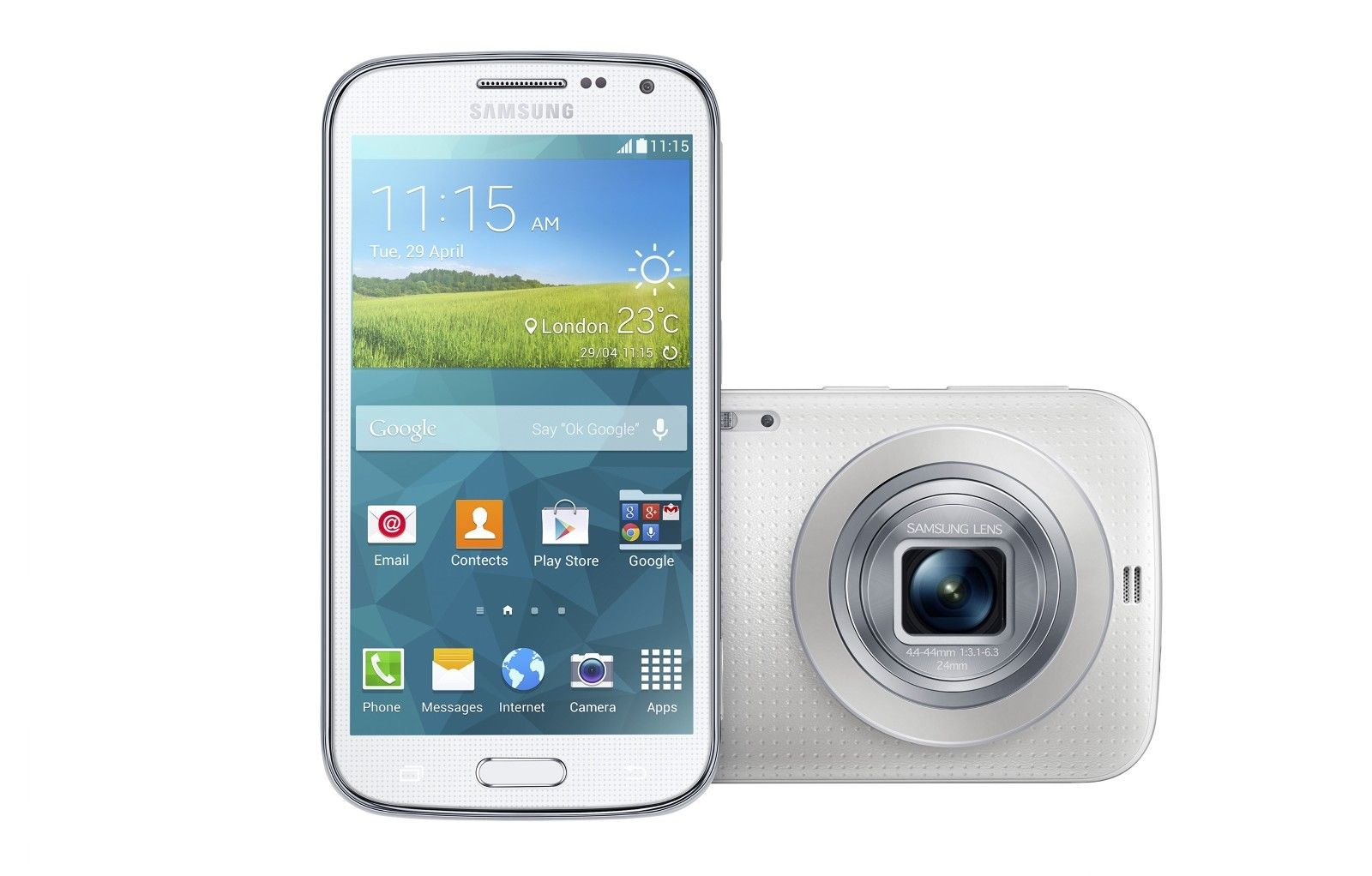 Samsung Galaxy K Zoom C115 White