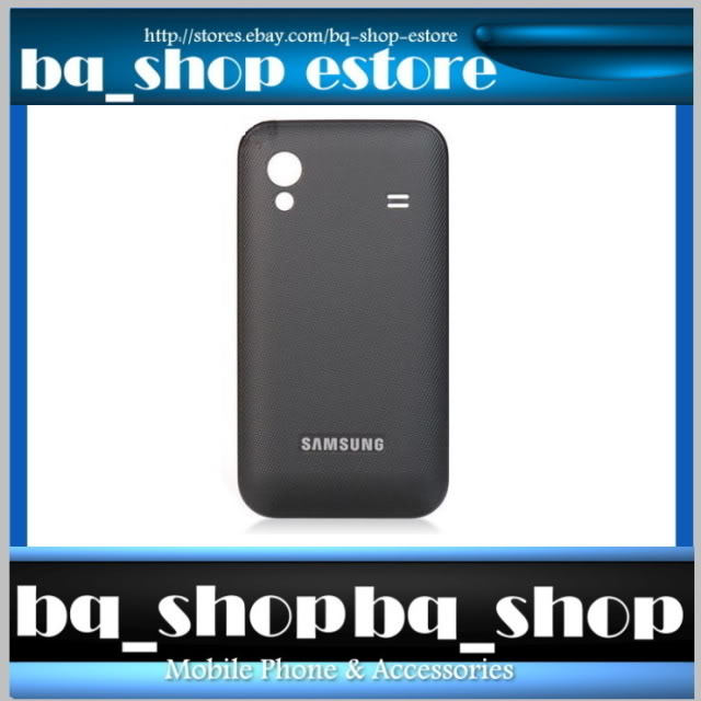 Original Samsung Galaxy Ace S5830 Black Battery Cover