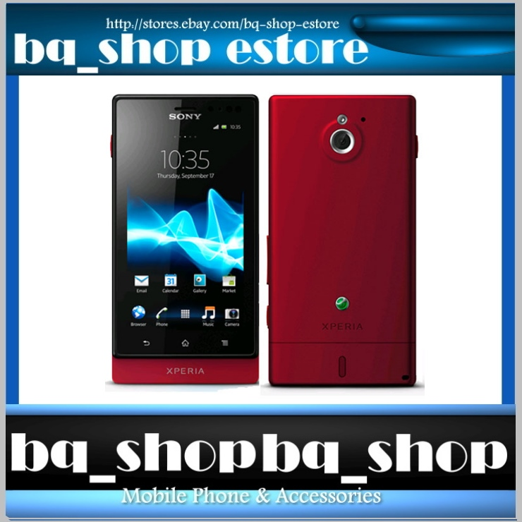 Sony XPERIA Sola Red MT27i
