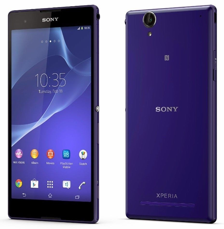 Sony Xperia T2 Ultra D5303 Purple