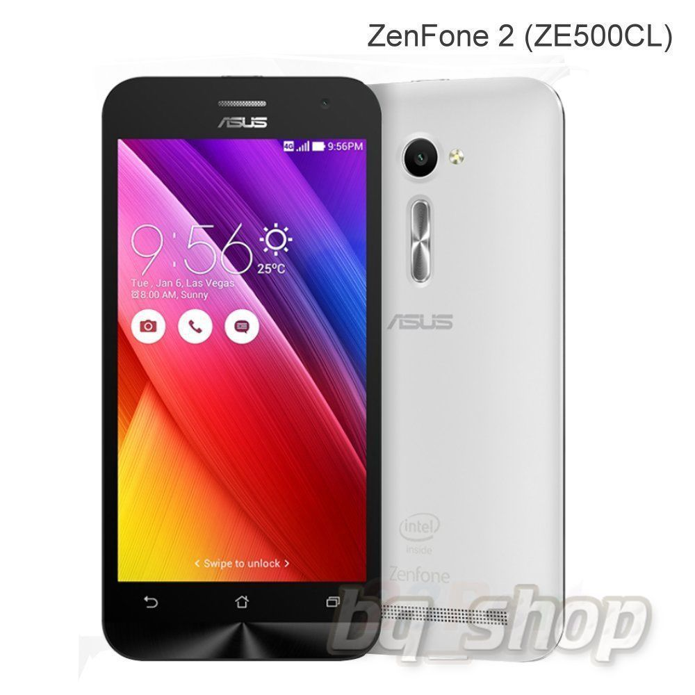 "ASUS ZenFone 2 ZE500CL 5"" 16GB White"