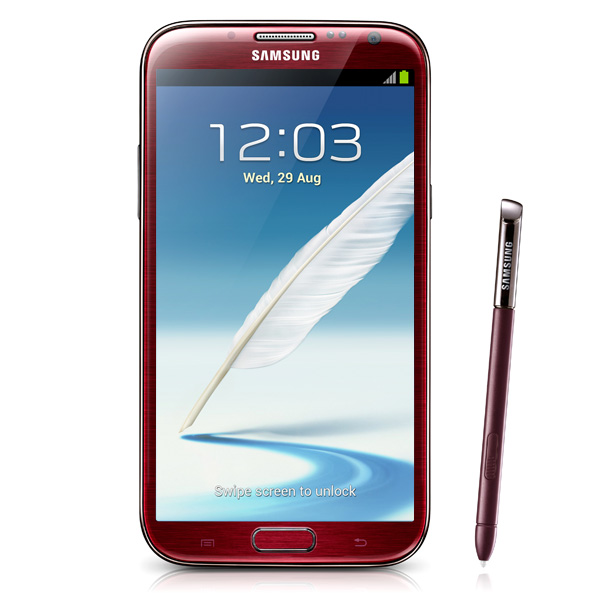 Samsung Galaxy Note II N7100 Red