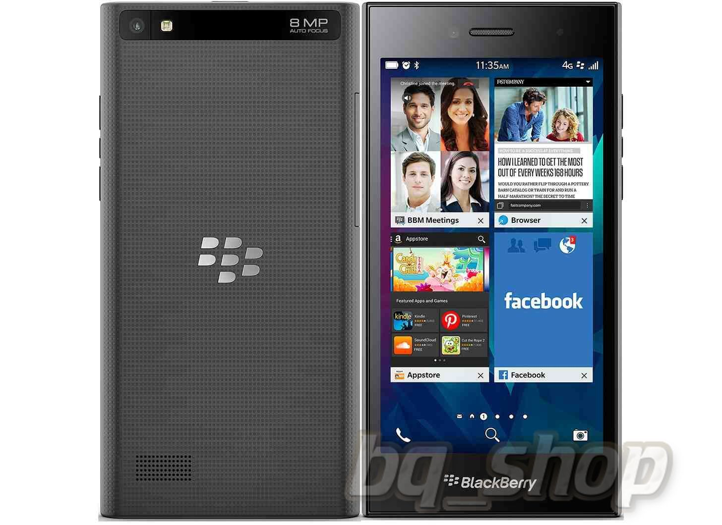 Blackberry Leap 16GB Black
