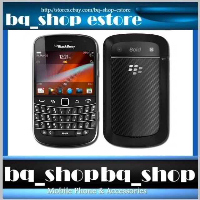 BlackBerry BOLD TOUCH 9900 Black