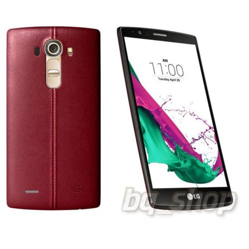 LG G4 Dual Sim H818 32GB Red Leather
