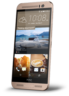 HTC One V Gold