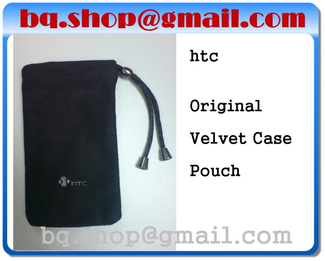ORIGINAL HTC Suede Pouch FIT for Diamond1/ Diamond2