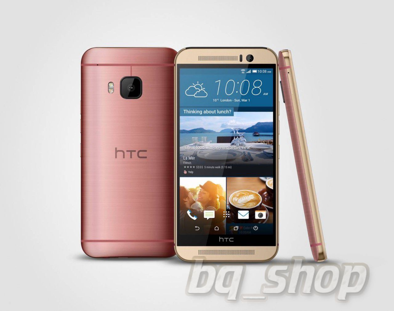 NEW HTC One M9 Pink