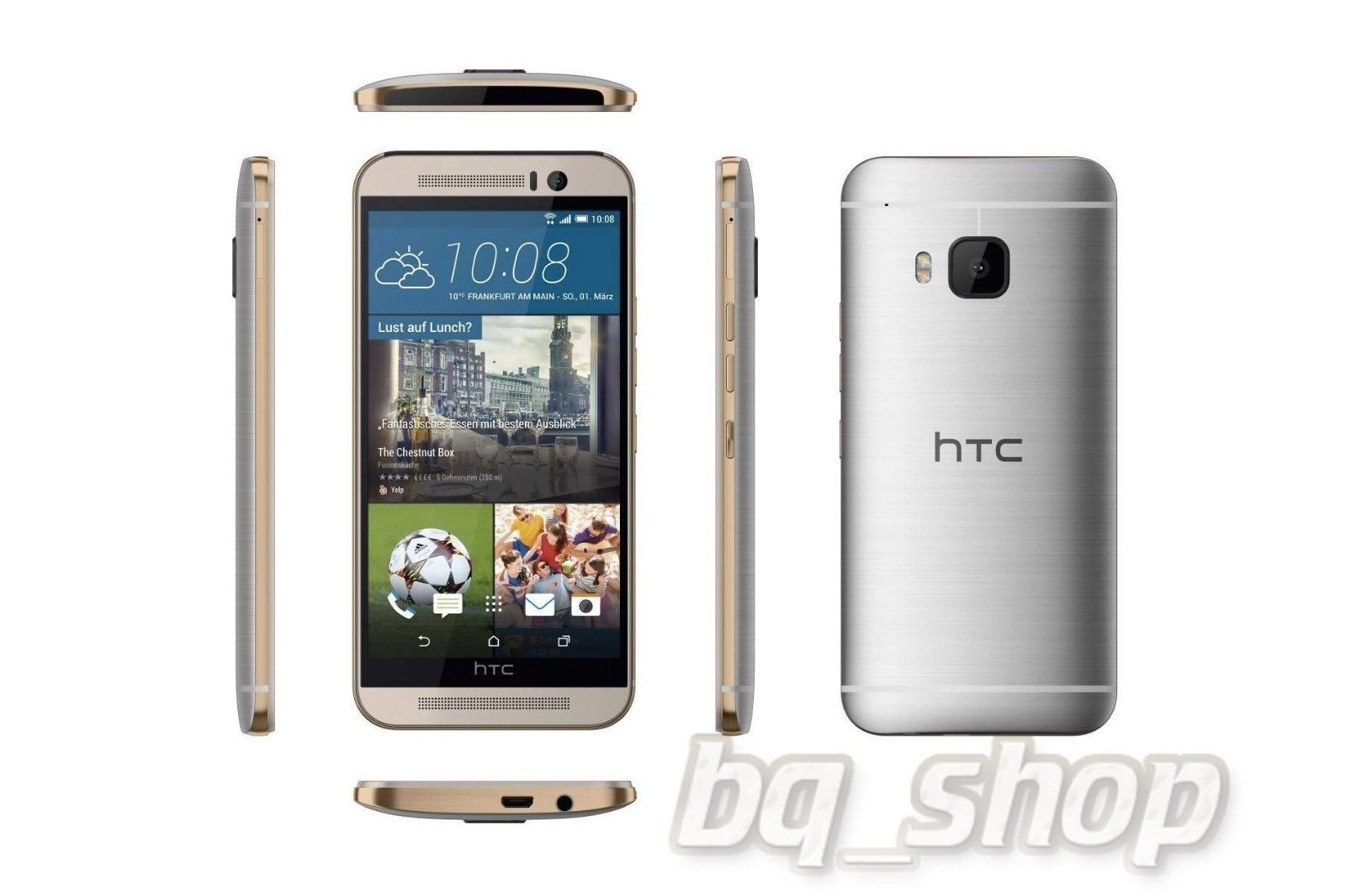 NEW HTC One M9 White