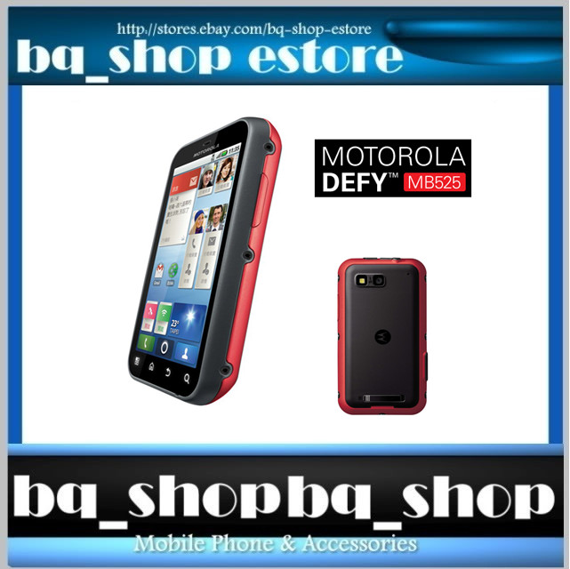 Motorola DEFY+ PLUS Red MB525