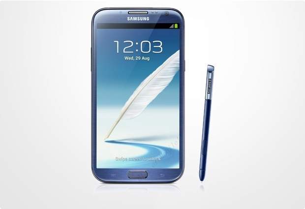Samsung Galaxy Note II N7100 Blue